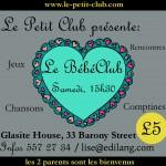 Bébé Club d'Edimbourg